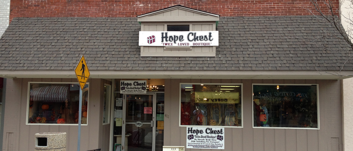 Hope Chest Front Entrance